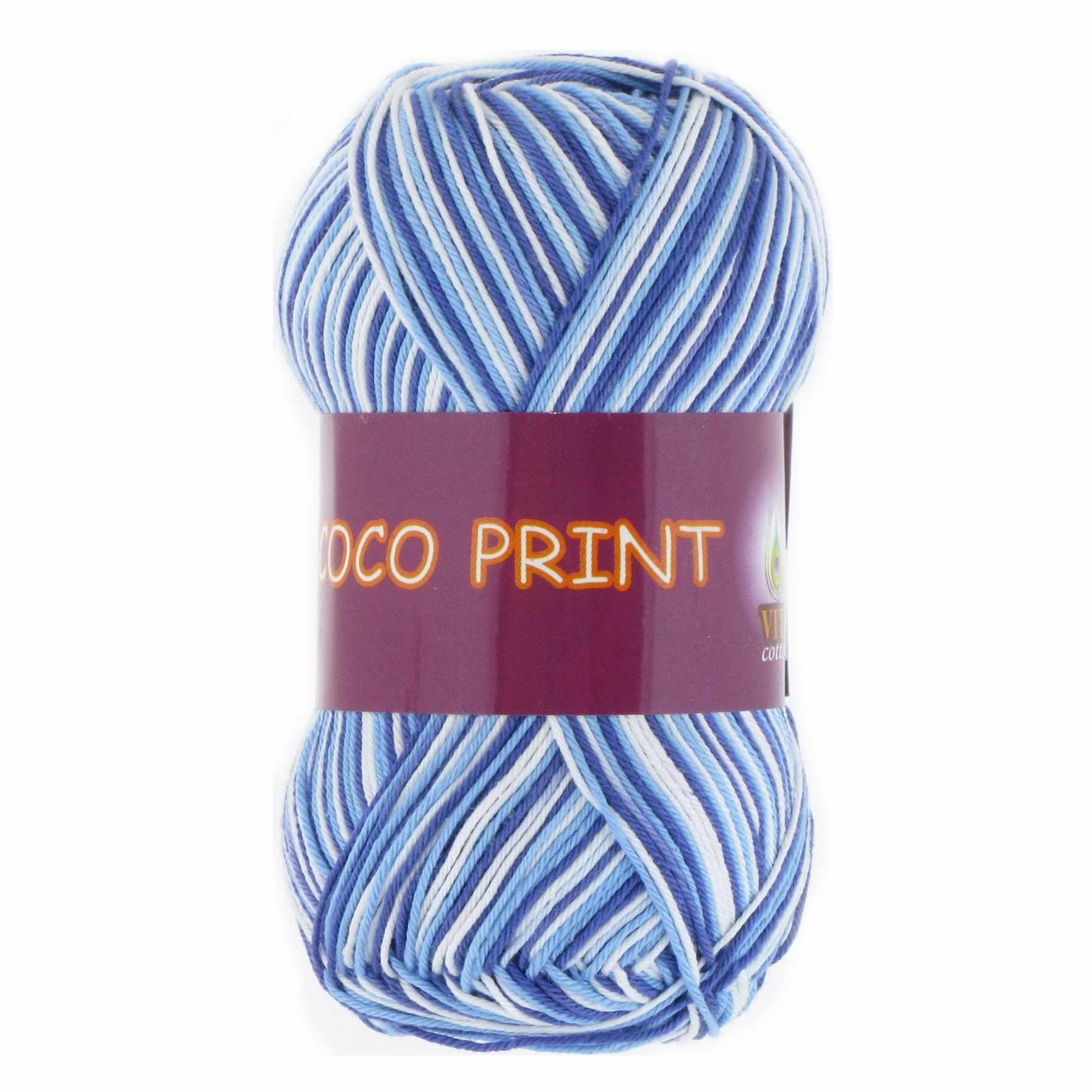 Пряжа VITA Coco print Цвет.4659 Меланж