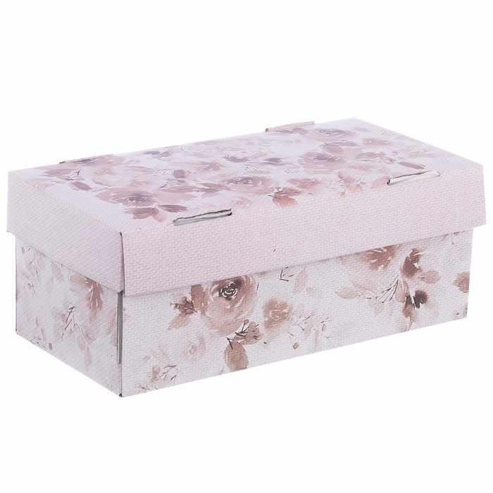 """2870901 Складная коробка для хранения """"Акварельные мечты"""""""