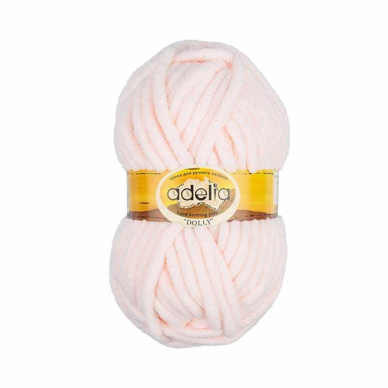 Пряжа Adelia Dolly 28 молочный