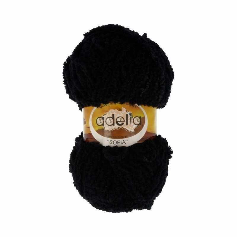 Пряжа Adelia Sofia 15 черный