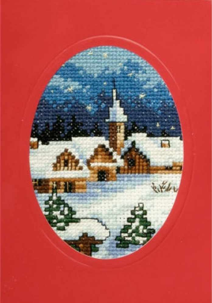 OR 6117 Рождество домики и храм