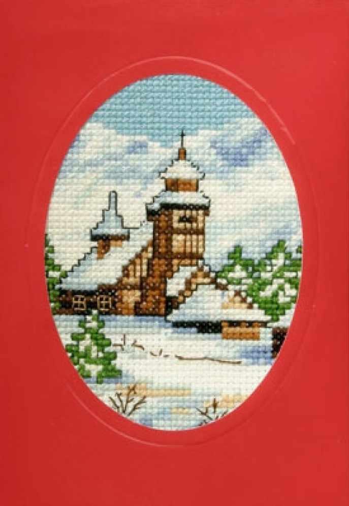 OR 6119 Церковь в снегу