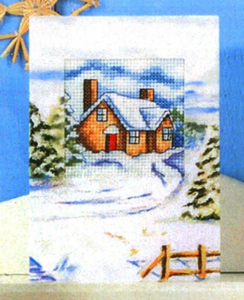OR 6208 Зимний домик