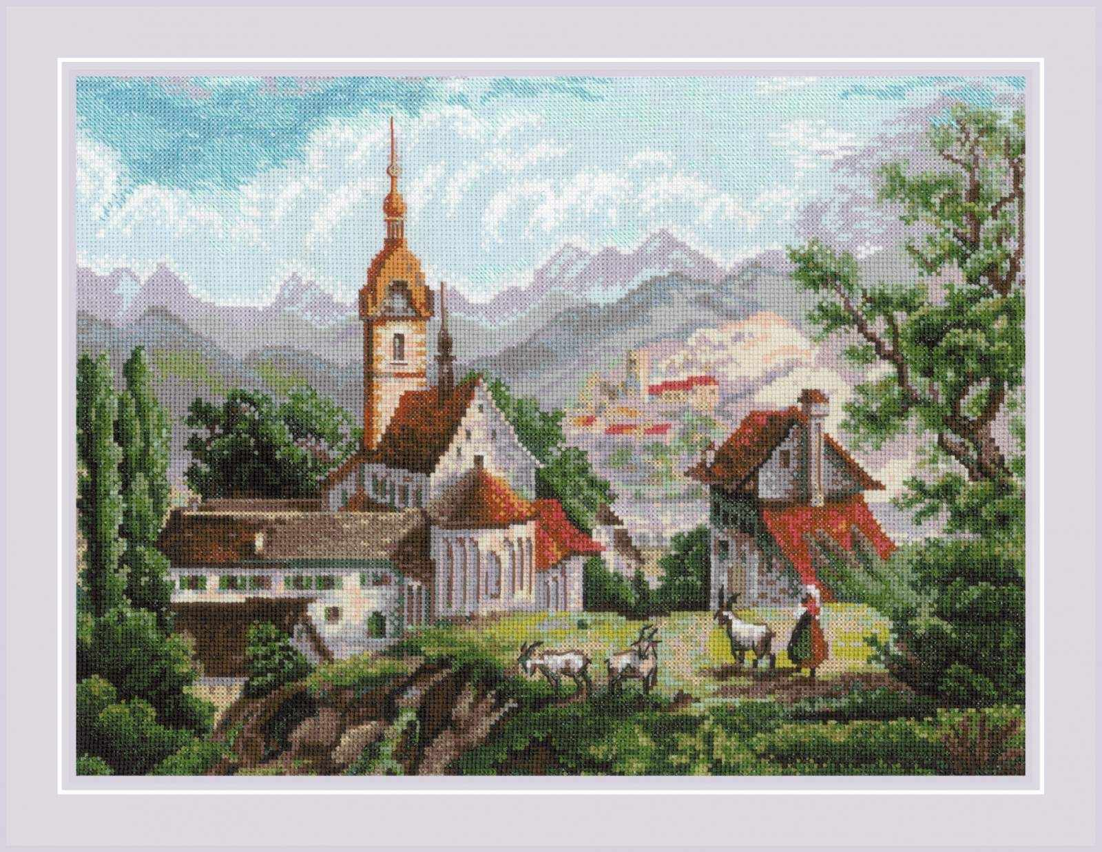 "1701 ""Монастырь Шоненверт"" по мотивам гравюр XIX века"