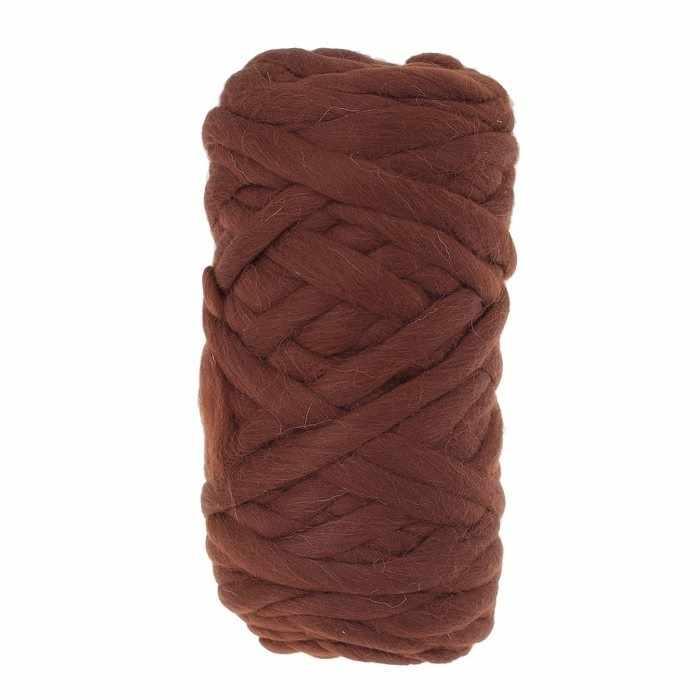 Пряжа Камтекс Super толстая Цвет.63 Шоколад