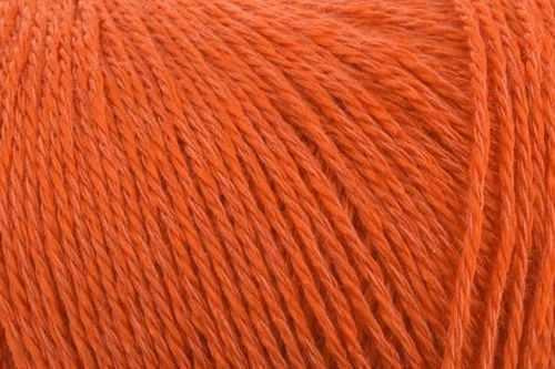 Пряжа Камтекс Виск. шелк блест. Цвет.35 Оранжевый
