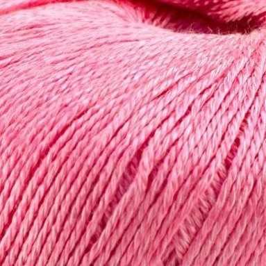 Пряжа Камтекс Виск. шелк блест. Цвет.56 Розовый