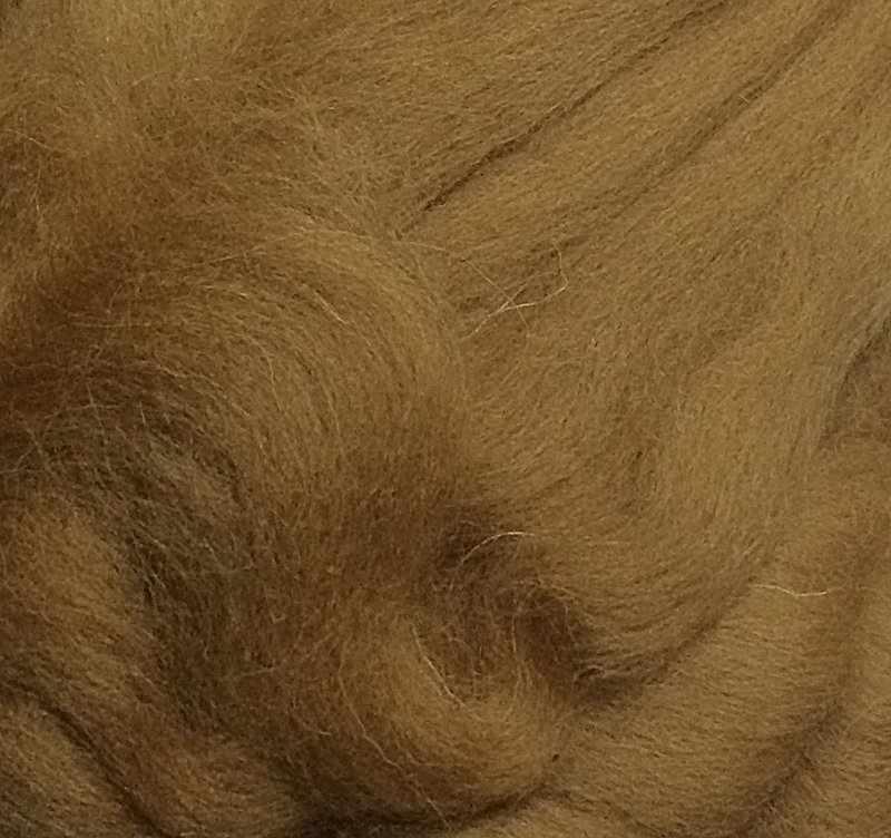 Пряжа Камтекс Лента для валяния Цвет.5 Бежевый