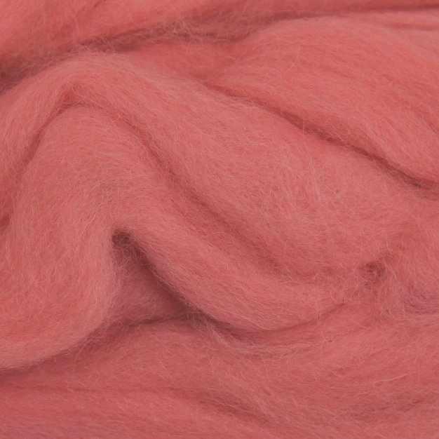 Пряжа Камтекс Лента для валяния Цвет.56 Розовый