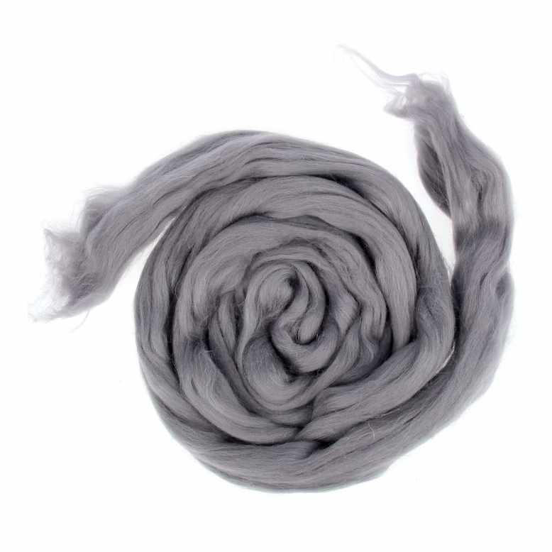 Пряжа Камтекс Лента для валяния Цвет.169 Серый