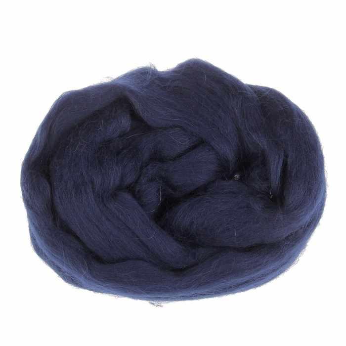 Пряжа Камтекс Лента для валяния Цвет.173 Синий
