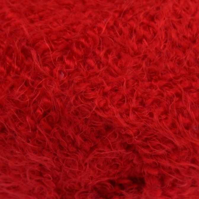 Пряжа Камтекс Лотос травка стрейч Цвет.46 Красный