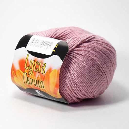 Пряжа Камтекс Лючия Цвет.56 Розовый