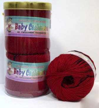 Пряжа Color City Baby Cashmere Цвет.235