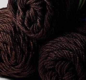 Пряжа Color City Yak Wool Цвет.2906 Темно коричневый