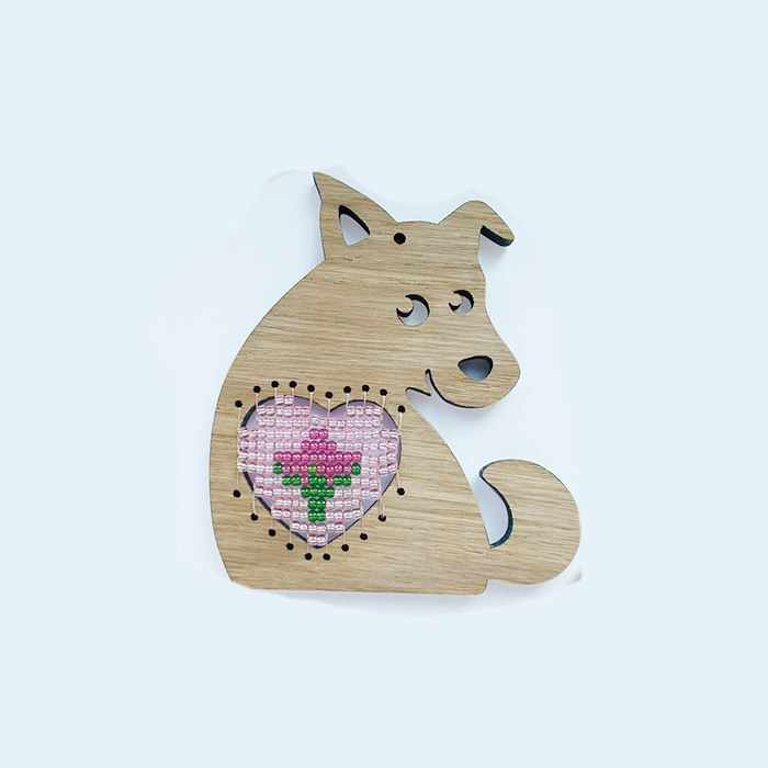 """""""Собачка с сердцем"""" Набор для создания сувенира"""