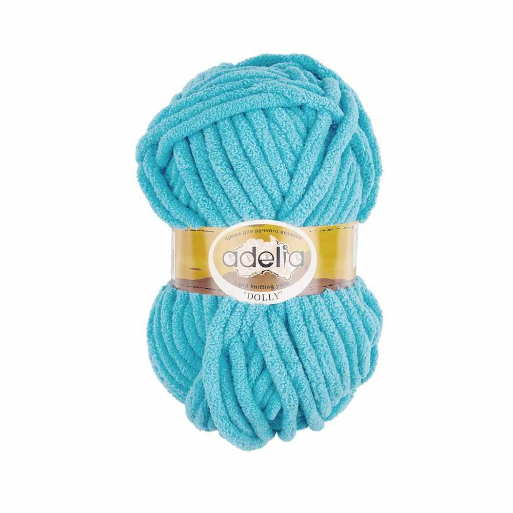 Пряжа Adelia Dolly 04 светло-голубой