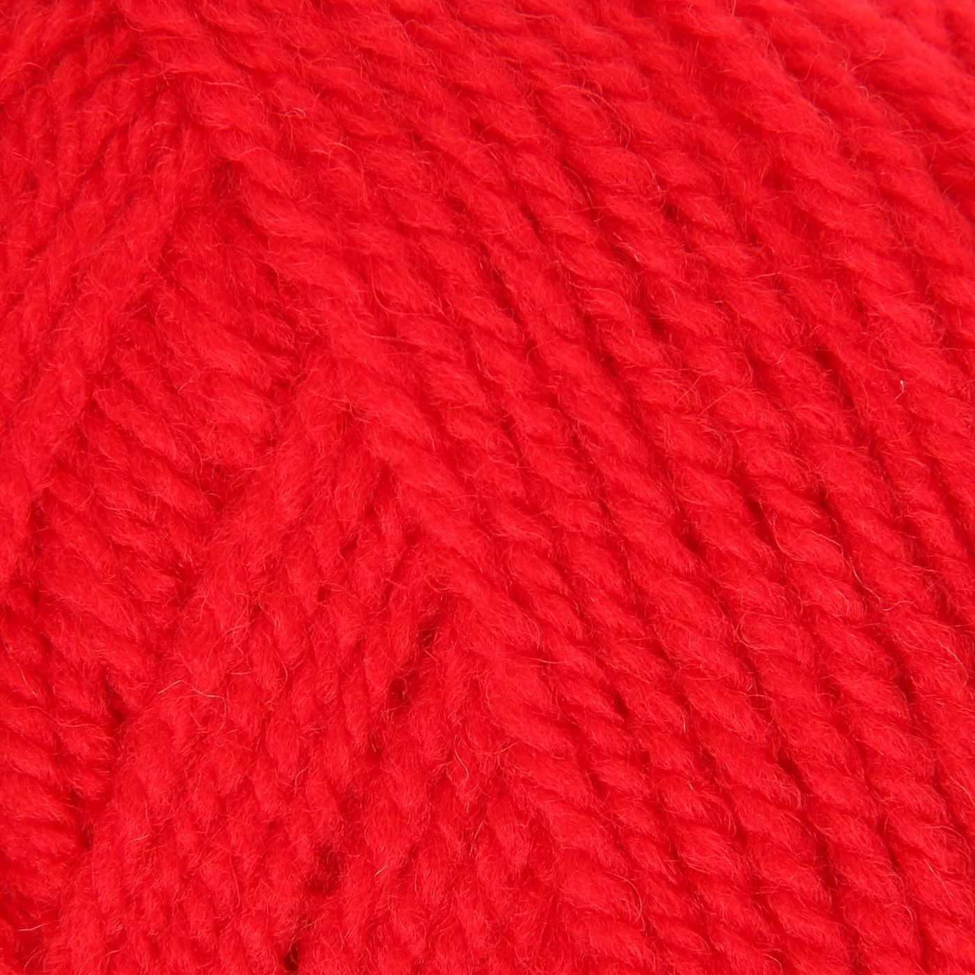 Пряжа Троицкая Подмосковная Цвет.0042 красный