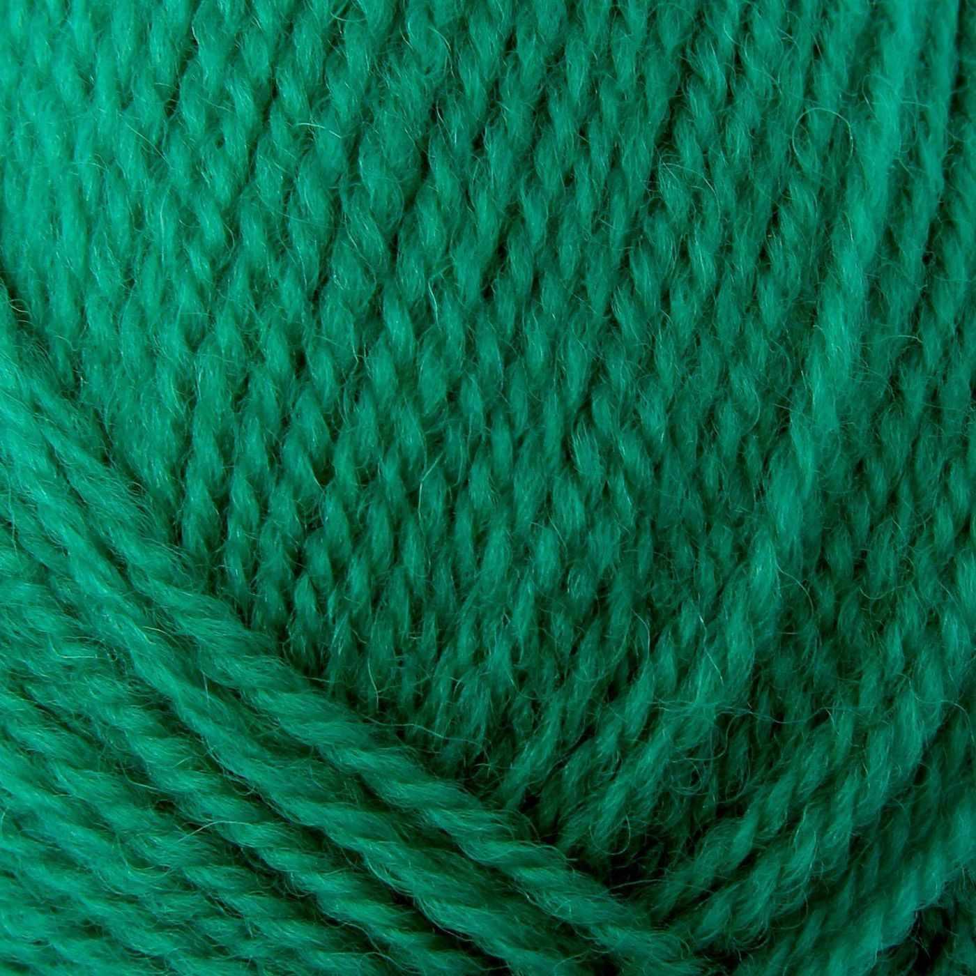Пряжа Троицкая Чистая шерсть Цвет.0753 Зеленая бирюза