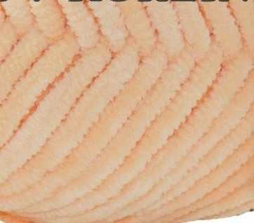 Пряжа Камтекс Велюр Цвет.036 Абрикос