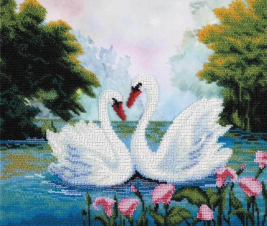 """БН-5029 """"Лебеди на пруду"""""""