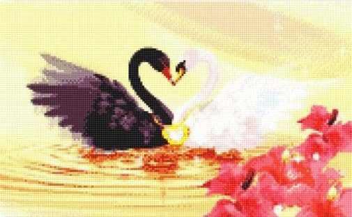 905401 Два лебедя