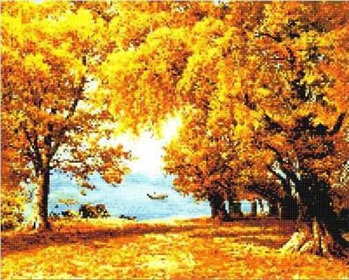 908611 Осенний лес