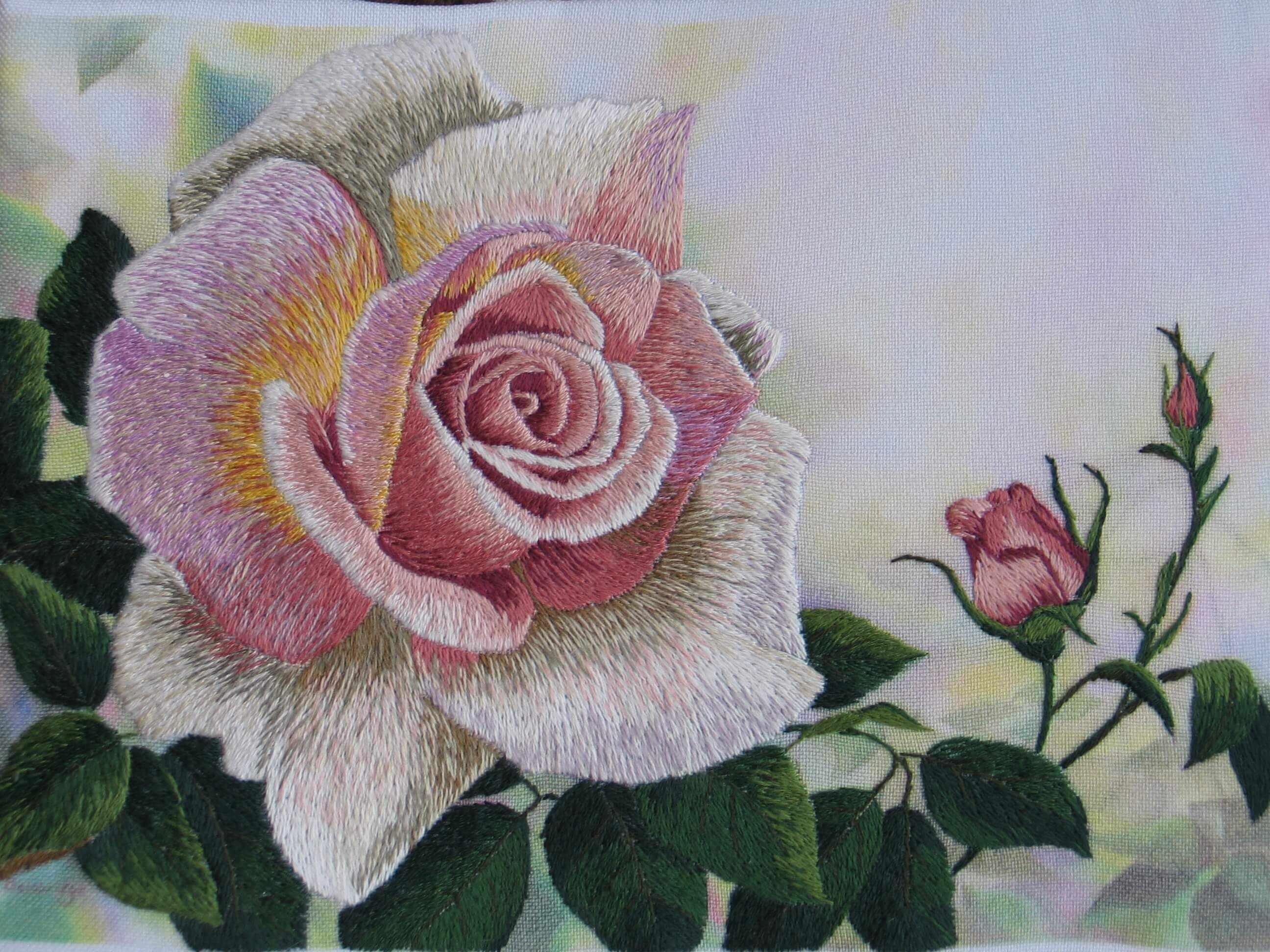 Роза 3D - набор