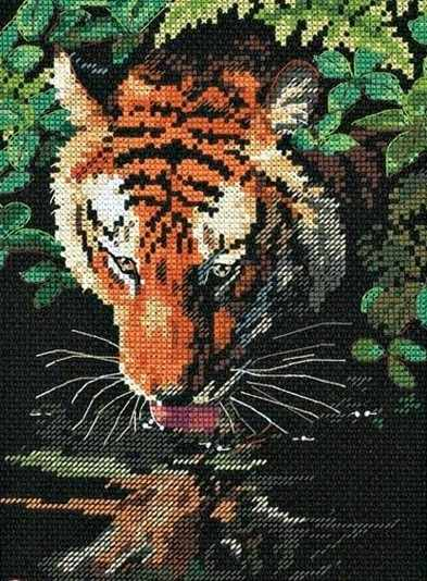 06961-DMS Отражение тигра