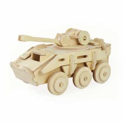 ROT-008 Пазл 3D, бронированная машина
