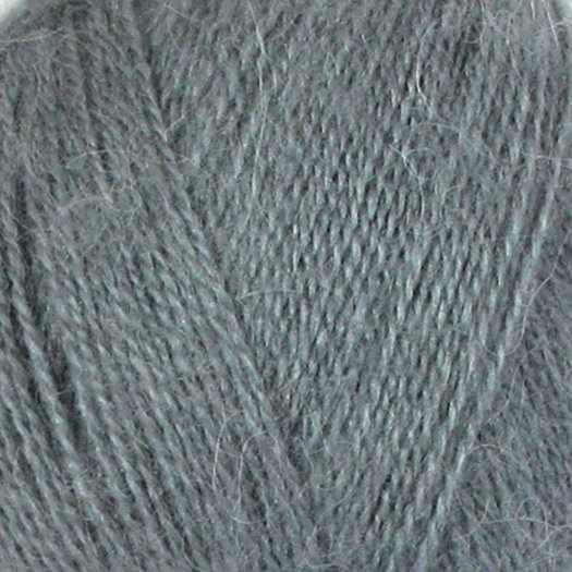 Пряжа Nako Mohair delicate Nako Цвет.6129 Серый
