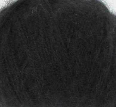 Пряжа Nako Mohair delicate Nako Цвет.6130 Черный