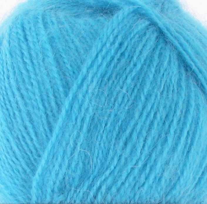 Пряжа Nako Mohair delicate Nako Цвет.6134 Голубая бирюза