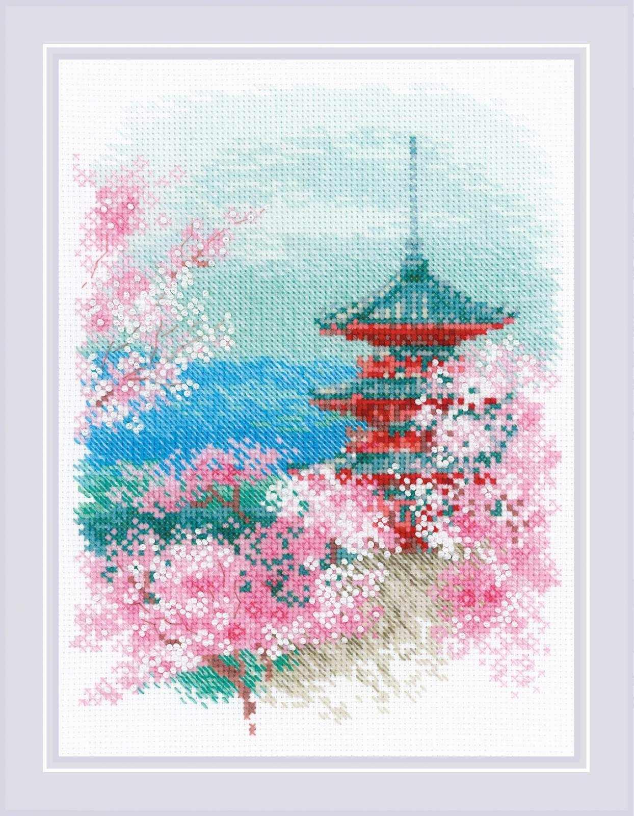 """1743 """"Сакура. Пагода"""""""