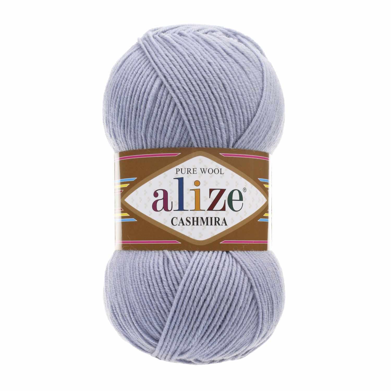 Пряжа Alize Cashmira Цвет.52 светло-серый