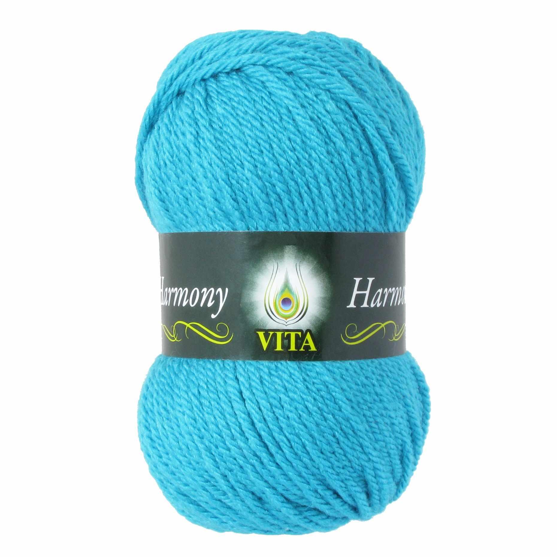 Пряжа VITA Harmony Цвет.6322 Светлая морская