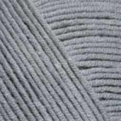 Пряжа YarnArt Jeans Цвет.46 Серый