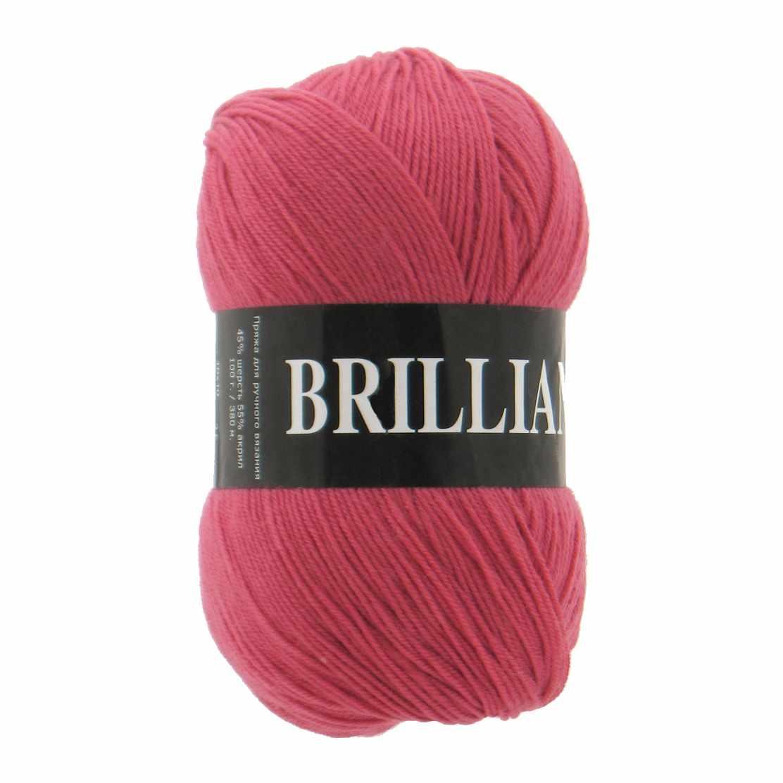 Пряжа VITA Brilliant Цвет.4960 Темно-красный