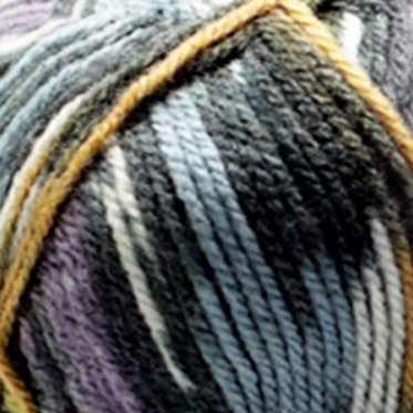Пряжа YarnArt Crazy Color Цвет.170 Зелёно-сине-оранжевый меланж