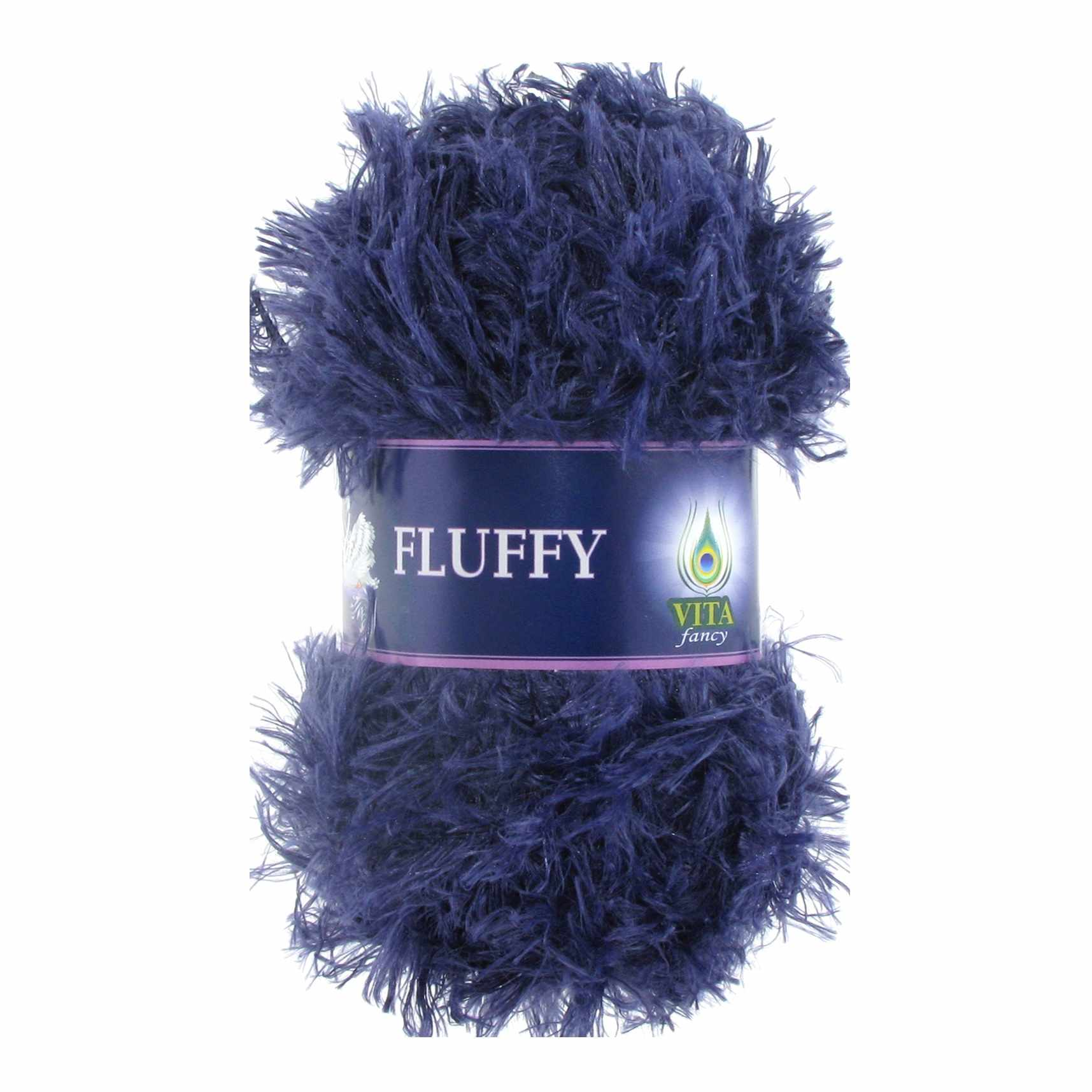 Пряжа VITA Fluffy Цвет.5457 Синий