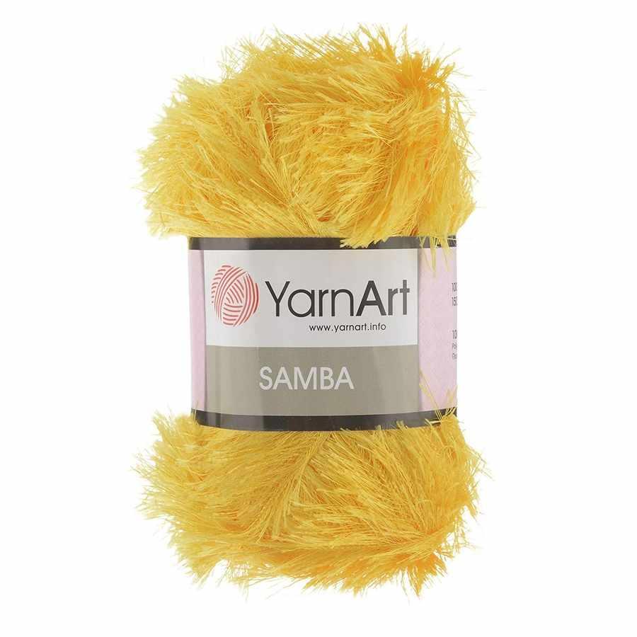 Пряжа YarnArt Samba Цвет.47 Золотой