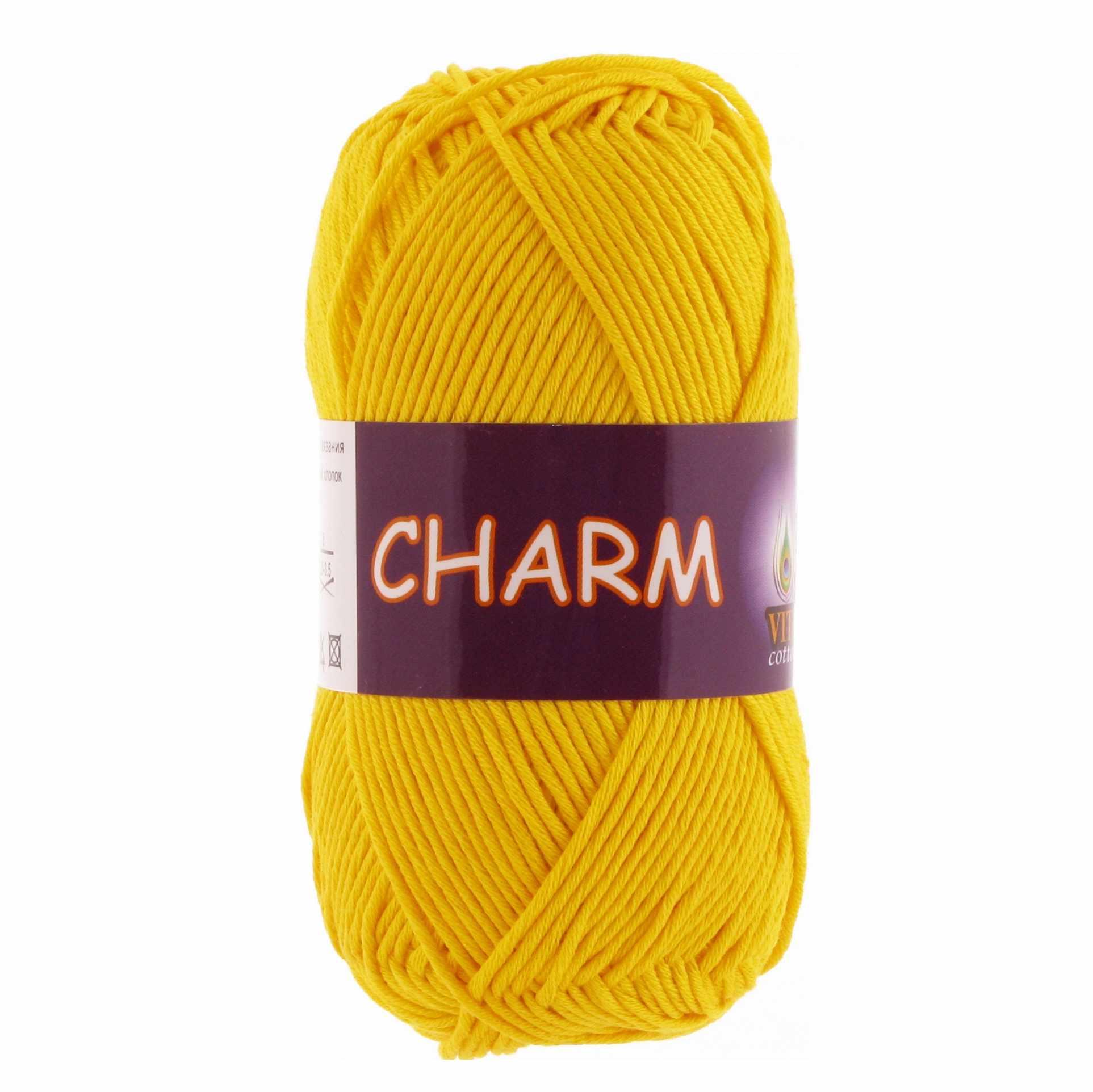 Пряжа VITA Charm Цвет.4180 Желтый