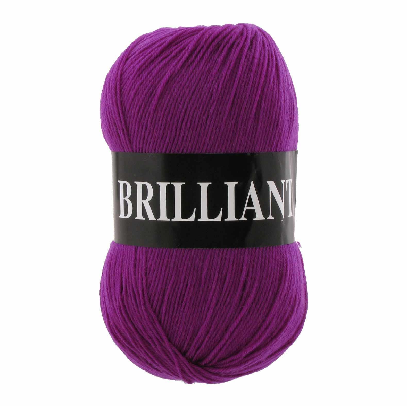 Пряжа VITA Brilliant Цвет.4970 Лиловый