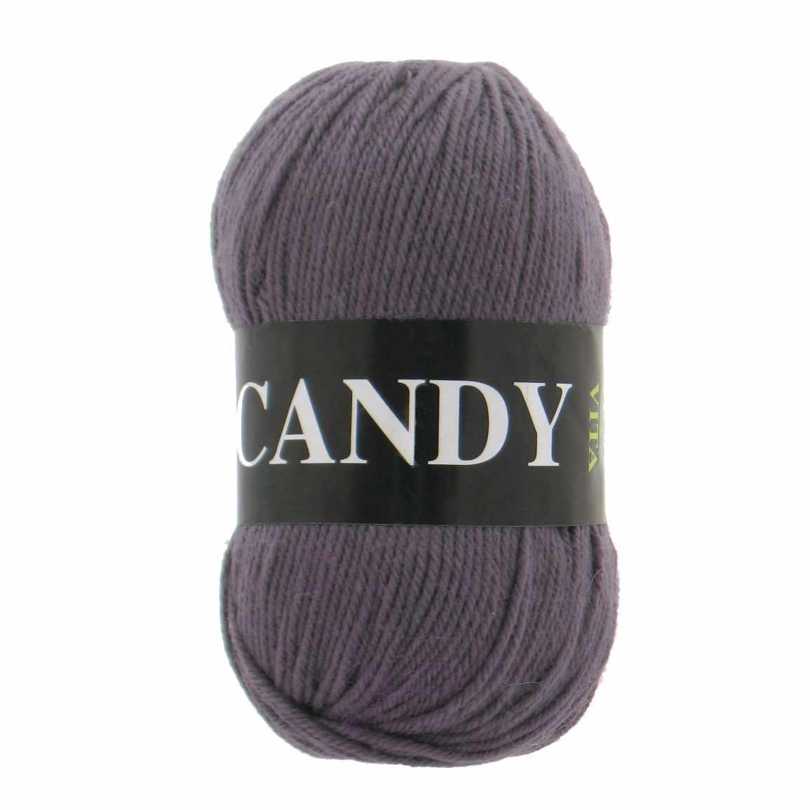 Пряжа VITA Candy Цвет.2522 Серо-коричневый