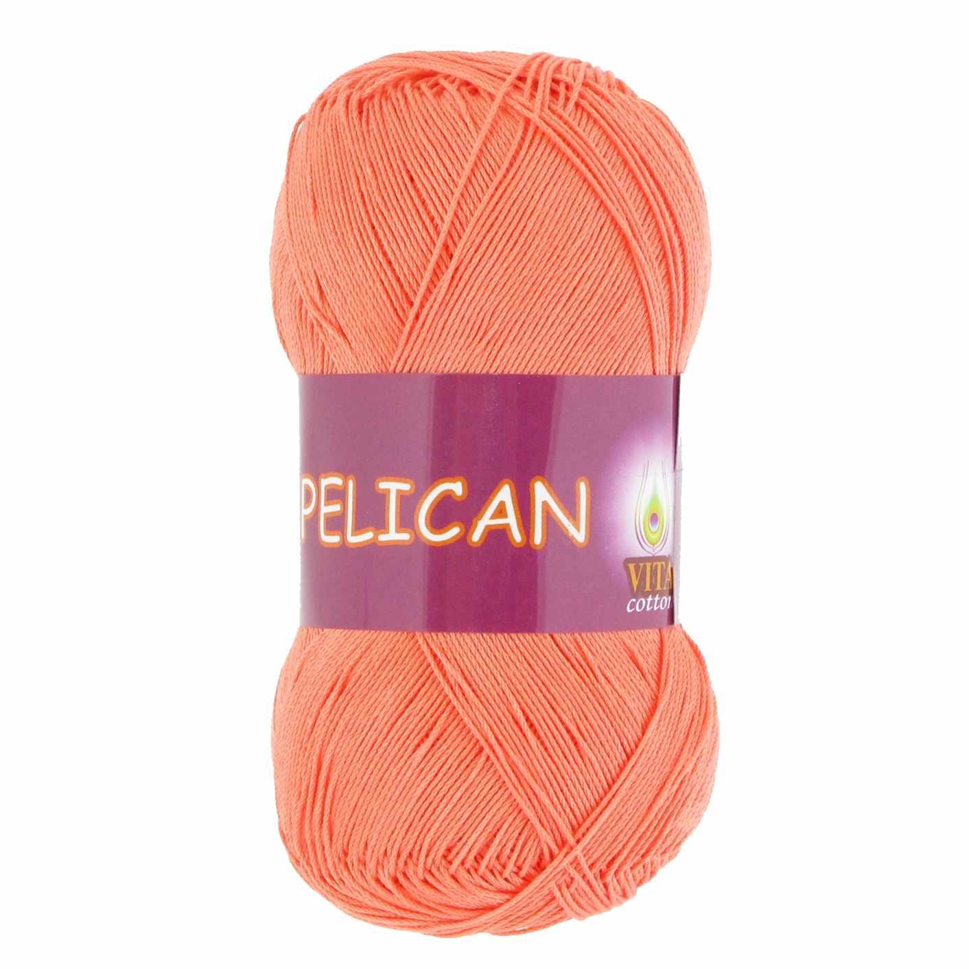 Пряжа VITA Pelican Цвет.4003 Персик