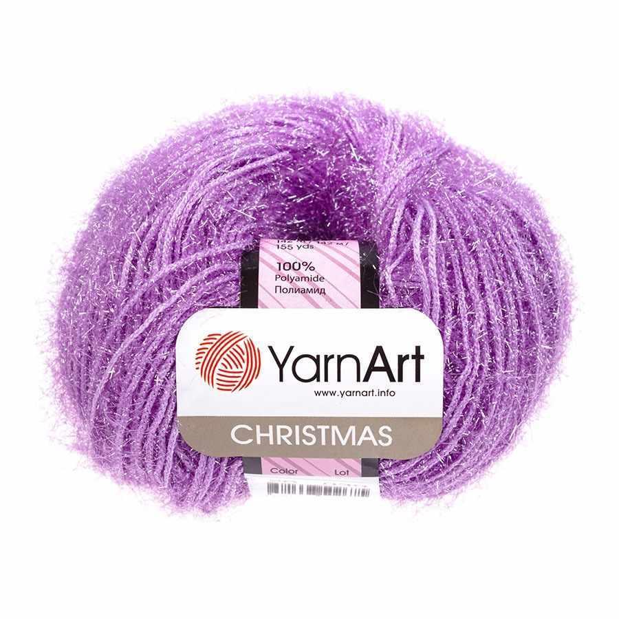 Пряжа YarnArt Christmas Цвет.026 Светло лиловый