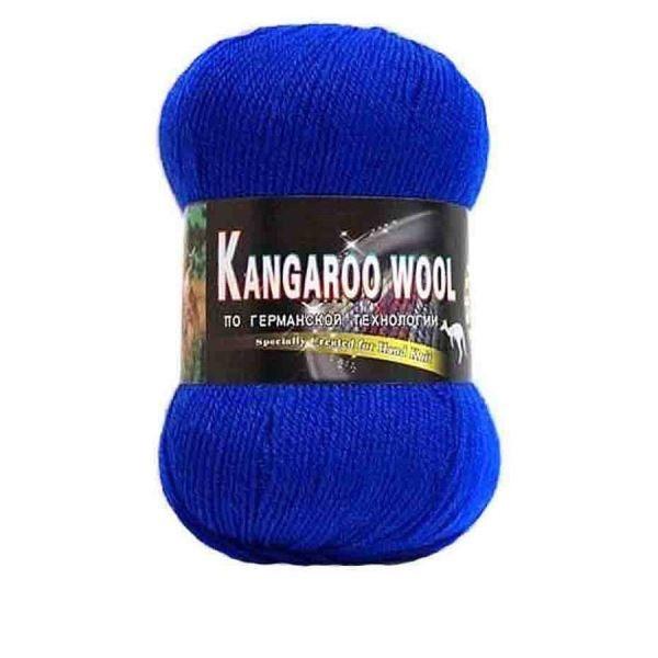Пряжа Color City Kangaroo wool Цвет.303 Василек