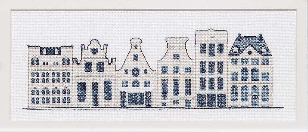 0552A Дома в стиле Delft Blue
