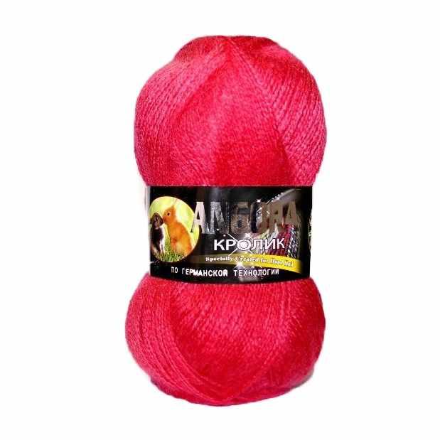 Пряжа Color City Angora кролик Цвет.2803 Фуксия
