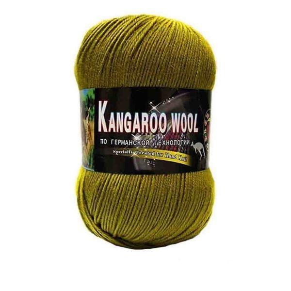 Пряжа Color City Kangaroo wool Цвет.2407 Светло болотный